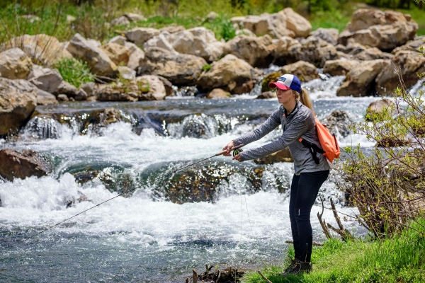 fly fishing in Spearfish Canyon