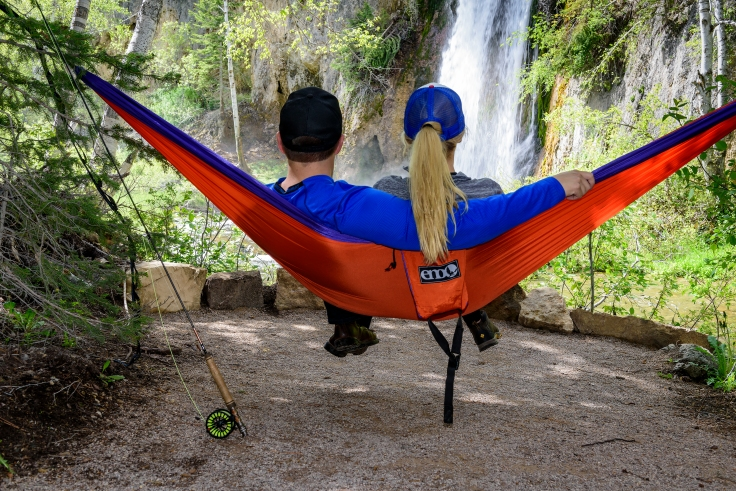 hammocking in spearfish canyon