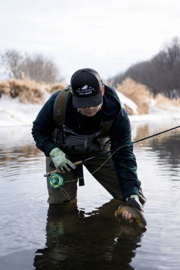 driftless, driftless fly fishing, trout fishing, midwest trout fishing