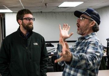 Brad Bohen telling a big fish story
